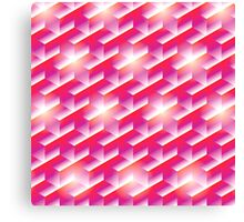 The Magenta Hex  Canvas Print