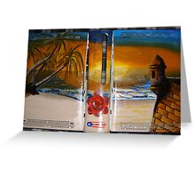 XBOX 360 PUERTORICO BEACH 2 Greeting Card