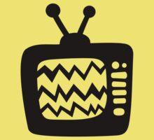 Vintage Cartoon TV Baby Tee