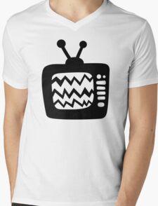 Vintage Cartoon TV Mens V-Neck T-Shirt