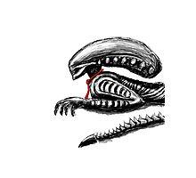 Alien Photographic Print