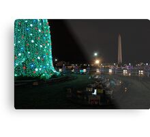 Washington DC Christmas Metal Print