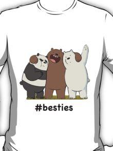 #Besties Design T-Shirt