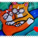 I Love You Hugging Loving Kitty Cats by dreamlyn