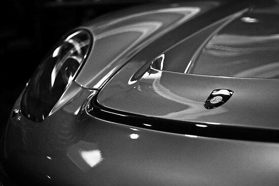Silver Porsche Carrera GT Gemballa  by LongbowX