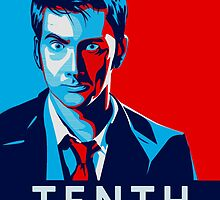 Doctor Who - Vote for Tennant by emapremo