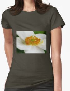 White Windflower (Anemone hupehensis) T-Shirt