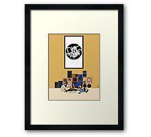 Blu & Exile Peanuts Framed Print