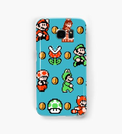 SUPER MARIO BROS 3 Samsung Galaxy Case/Skin