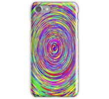 Trippy Spiral Rainbow iPhone Case/Skin