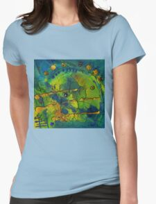 Of Land and Sea Womens Fitted T-Shirt