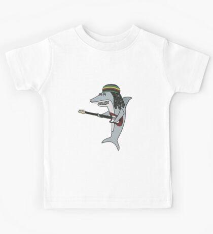 Reggae shark Kids Tee