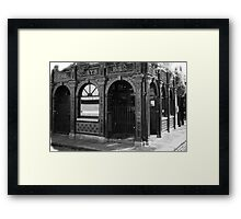 It Was Monday! Framed Print