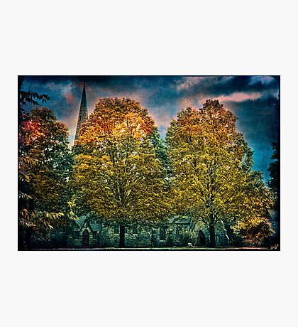 The Episcopal Church of St Mary-in-the-Highlands, Cold Spring, NY Photographic Print