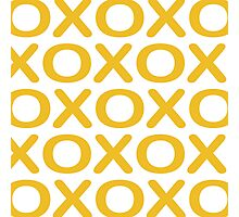 Noughts Crosses Photographic Print