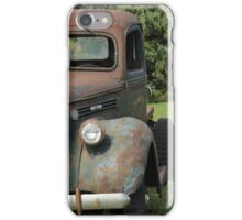 A Vintage Truck on a Yard iPhone Case/Skin