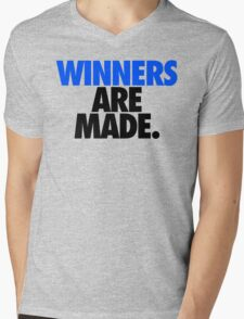 WINNERS ARE MADE. Mens V-Neck T-Shirt
