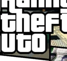 granny theft auto Sticker
