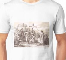 Augustine brings Christianity to England, Kent 597 Unisex T-Shirt