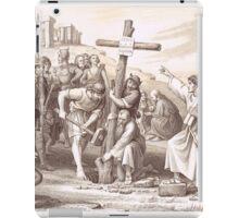 Augustine brings Christianity to England, Kent 597 iPad Case/Skin