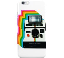Polaroid Instant Rainbow iPhone Case/Skin