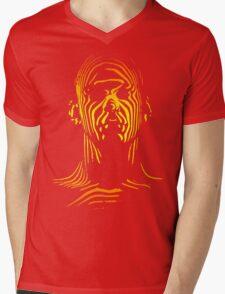 13th Floor Elevators Outline Man Mens V-Neck T-Shirt