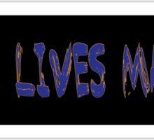 Police Lives Matter Sticker