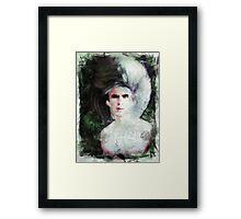 Silver Queen Framed Print