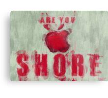 Apple Mac Shore Metal Print