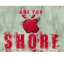 Apple Mac Shore Photographic Print