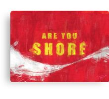 Cola Shore Canvas Print