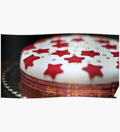 Christmas Cake Poster
