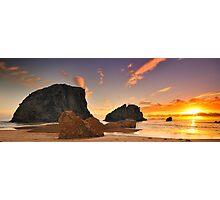 Glasshouse Rocks Photographic Print