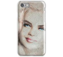 Blue Eyes Blond Crep iPhone Case/Skin