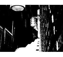 Retro alleyway Photographic Print