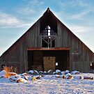 Winter Barn II by ShutterlyPrfct