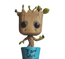 Dancing Baby Groot by jcartwork05