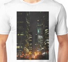Downtown Toronto at night Unisex T-Shirt