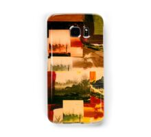 Industrial Grunge Orange Landscape 19 Samsung Galaxy Case/Skin