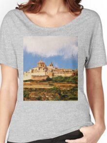 Mdina, the Silent City Women's Relaxed Fit T-Shirt