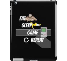 EAT/ SLEEP / GAME / REPEAT iPad Case/Skin