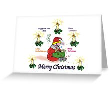 Merry Christmas, Happy New year 2011 Greeting Card