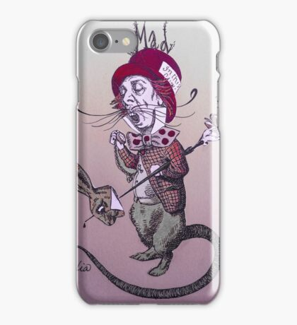 Surreal Mad Hatter/ Purple Tones iPhone Case/Skin