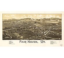 Fair Haven Vermont (1886) Photographic Print
