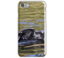 Swimming Labrador iPhone Case/Skin