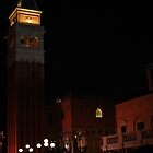 Bell Tower, Italy Court Yard at Epcot by Shane Jones