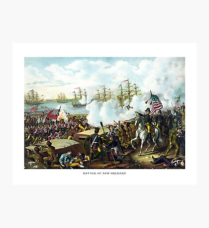 General Andrew Jackson -- Battle Of New Orleans Photographic Print