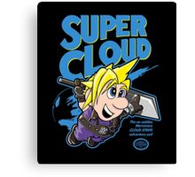 Super Cloud Canvas Print