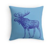 Kansas City Royals Moose Throw Pillow