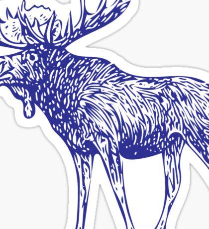 Kansas City Royals Moose Sticker